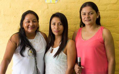 Mujeres nasa contra la violencia
